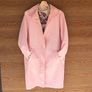 Ralph Lauren Trench Coat Rain Jacket   Pink Large